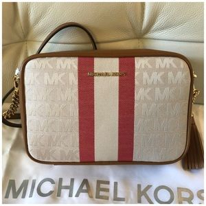Michael kors Striped Medium Bag Nwt